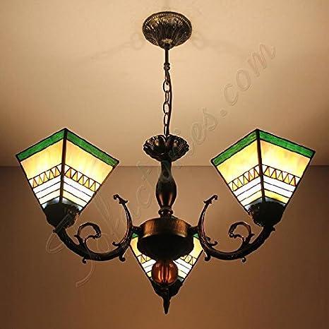 Pequeñas lámparas Tiffany Continental minimalista Retro ...