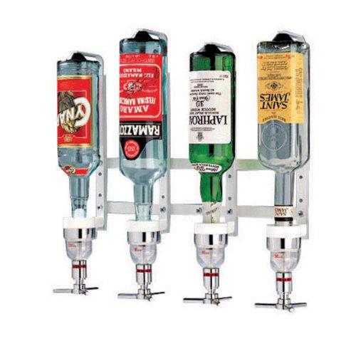 Paderno World Cuisine Aluminum Bottle Rack, 6 Bottles