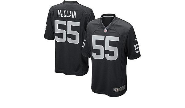 Amazon.com: Youth Rolando McClain Jersey: Oakland Raiders #55 Game ...
