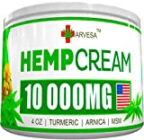 Best Joint Pain Reliefs - Hemp Pain Relief Cream - 1500MG - 4 Review