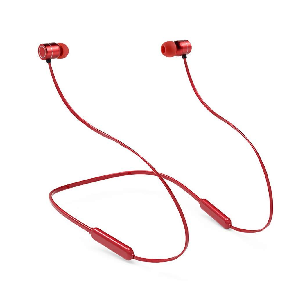【国内正規品】 YYH ハンギングネックワイヤレス充電イヤーBluetoothヘッドセット レッド スポーツネックマウント 磁気Bluetoothヘッドセット Bluetoothイヤホン レッド Bluetoothイヤホン 003 レッド B07H25JPV5 B07H25JPV5, ハンナンシ:003c0a4e --- nicolasalvioli.com