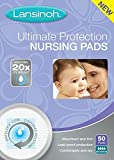Health & Personal Care : Lansinoh Ultimate Protection Nursing Pads For Nursing Mothers, For Maximum Flow, Leak Proof Protection Day or Nighttime, Maximum Comfort and Discretion, 50 Count (2 Pack)