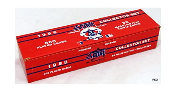 1988 Score Baseball Complete Factory Sealed Set 660 Cards At