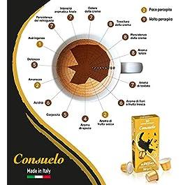 Consuelo – cápsulas de café compatibles con Nespresso* – Supremo, 100 cápsulas (10×10)