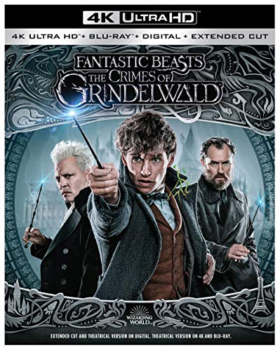 Fantastic Beasts: The Crimes of Grindelwald (4K Ultra HD +...