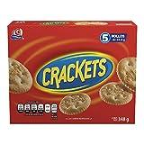 Crackets, Galletas Crackets, 5 rollos, 348 g