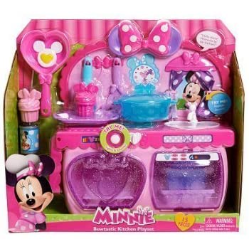 jusub minnie bow tique sweet surprises kitchen toy toys games. Black Bedroom Furniture Sets. Home Design Ideas