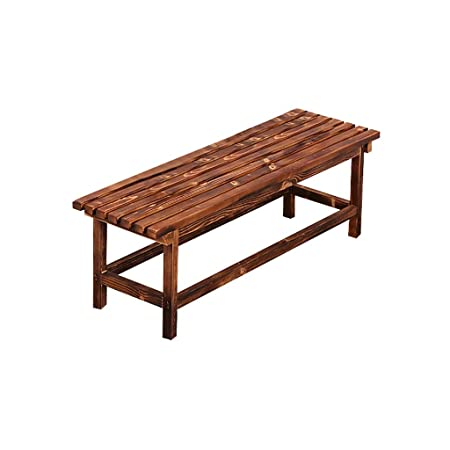 Sillas de comedor de jardín Banco, mesa de comedor de madera ...