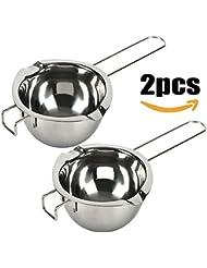 18/8 Stainless Steel Universal Double Boiler   Melting Pot   Smart Baking Tool (Set of 2)