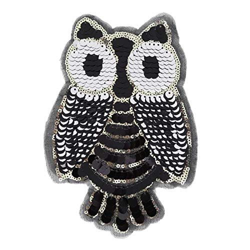 Patches - Fashion Sequins Embroidery Iron On Patches Sticker
