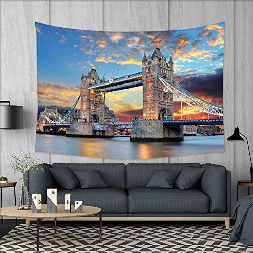 smallbeefly London Customed Widened Tapestry Vista of Tower