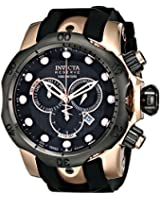 Invicta Men's 0361 Reserve Collection Venom Chronograph 18k Rose Gold-Plated Stainless Steel Watch
