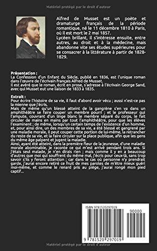 La confession d'un enfant du siècle (French Edition) Alfred De Musset