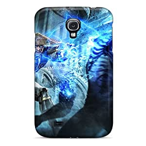 New PDlXp11677pSSeD Raiden In Mortal Kombat Begins 2011 Skin Case Cover Shatterproof Case For Galaxy S4