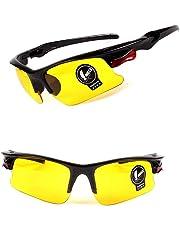 Niome Night Vision Men Women Sunglasses Cycling Riding Driving Fishing Glasses Anti-Glare