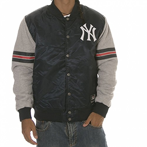 Azul Yankees York Chaqueta New Majestic Nv Nfl qBvBYx