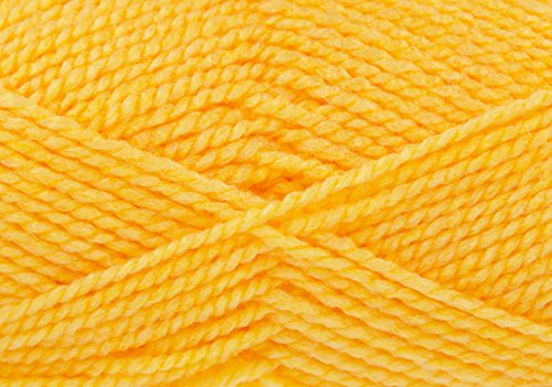 King Cole Big Value Chunky Knitting Yarn 100% Acrylic Wool 100g Ball (Yellow - - Wine 828