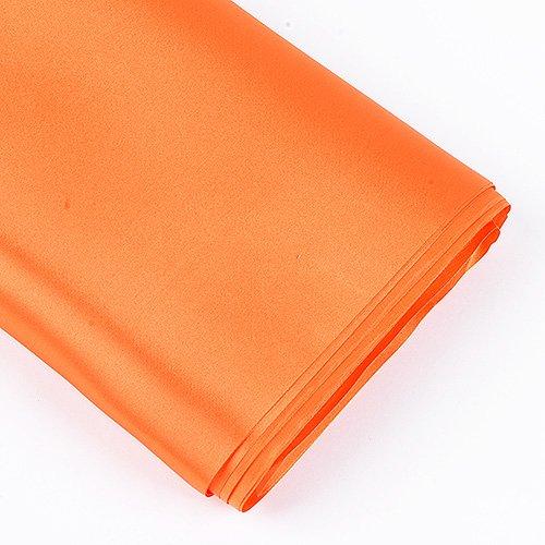 BBCrafts Premium Satin Fabric - ( W: 60 inch   L: 10 Yards ) (Orange) ()