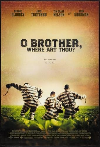 O Brother Where Art Thou Poster #01 24x36in