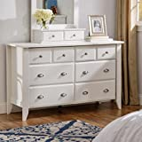Standard Clothing Drawer Dresser-keep Clothes Neatly Folded and Organized-a Contemporary Design and Neutral Finish-good Additon to Any Bedroom- Satisfaction Guaranteed!