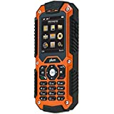 Plum Ram - Unlocked Rugged Phone - Tough Durable IP67 - Water Shock Proof GSM  (Orange)