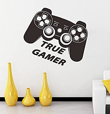 game console offer stickers stickers wall vinyl art design cool comedy game room