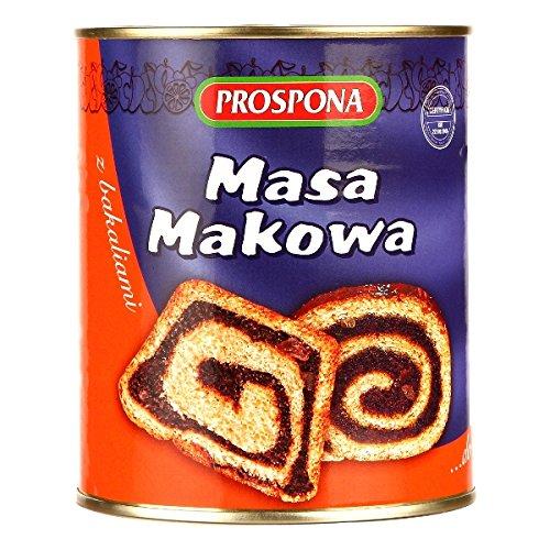 Prospona Poppy Seeds Filling Masa Makowa 900g ()