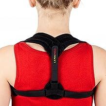Leramed Posture Corrector For Women Men - Effective and Comfortable Adjustable Posture Correct Brace - Back Brace - Posture Brace - Clavicle Support Brace - Posture Support - Upper Back Pain Relief