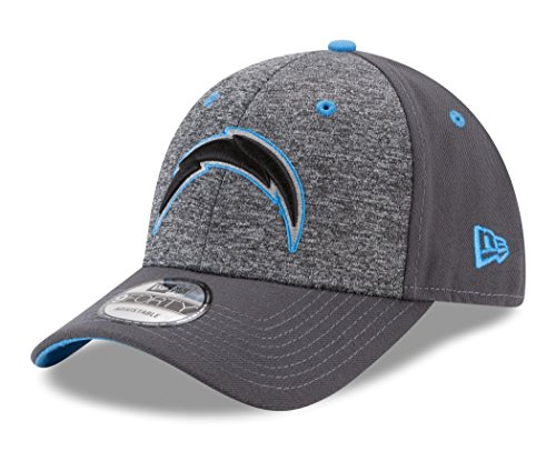 - NFL San Diego Chargers Adult Men The League Shadow 2 9FORTY Adjustable Cap, One Size, Graphite