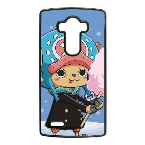Rhinestone Chopper (LG G4 Case,Popular Anime One Piece - Cute Tony Tony Chopper Pattern Durable Hard Plastic Scratch-Proof Protective)