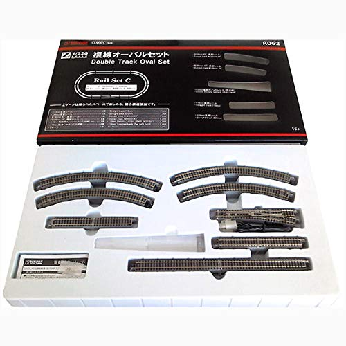 Rokuhan Z Scale R062 Rail Set C Double Oval for sale  Delivered anywhere in USA