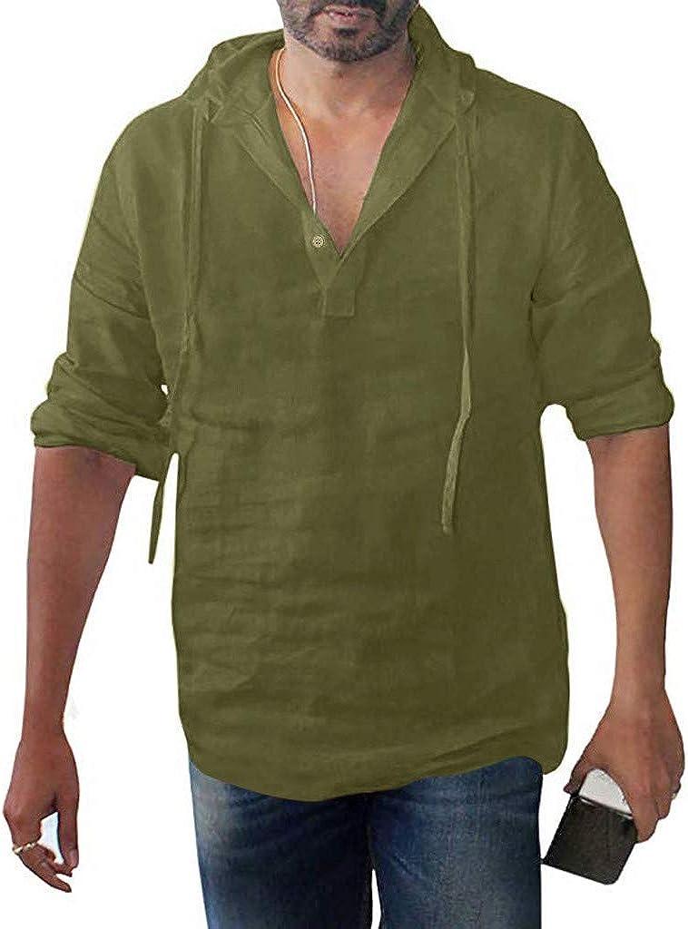 Flax t-shirt Oversize hood Emerald Green linen hoodie Men Women Green Summer hoodie shirt Beach Linen short sleeve hoodie