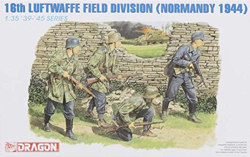 Dragon 1:35 16th Luftwaffe Field Division (Nomandy 1944) Figure Kit #6084