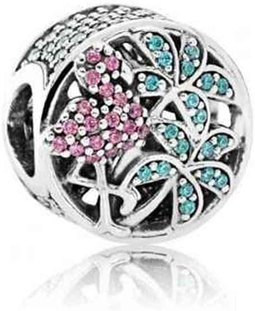 charm pandora flamant rose