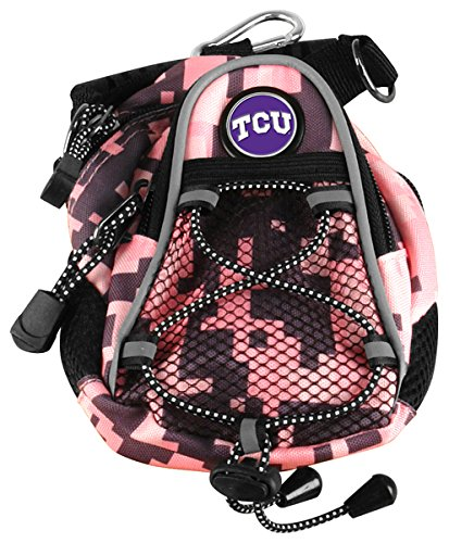 LinksWalker NCAA Texas Christian Horned Frogs - Mini Day Pack - Pink Digi Camo