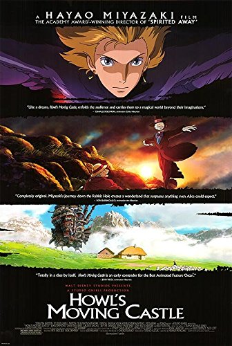 Howl's Moving Castle - Authentic Original Movie Poster