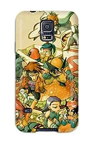 Sarah deas's Shop Hot 2437328K12718592 Sanp On Case Cover Protector For Galaxy S5 (xmen Anime Chibi Style)