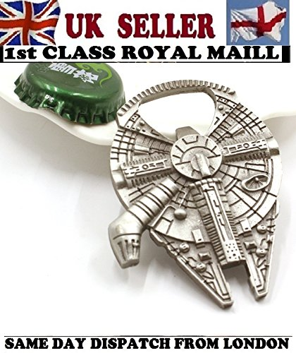 Star-Wars-Millenium-Falcon-Metal-Bottle-Opener-New