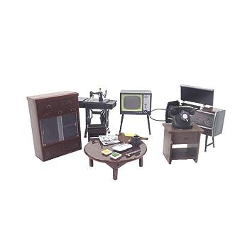 Amazon.com: Dollhouse Miniature Furniture Japanese Style ...