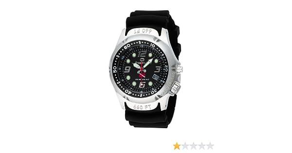 Freestyle Hammerhead Dive - Reloj analógico de caballero de cuarzo con correa de goma negra (luz): Freestyle: Amazon.es: Relojes