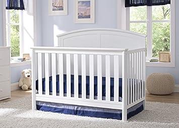 Delta Children Somerset 4-in-1 Crib, White