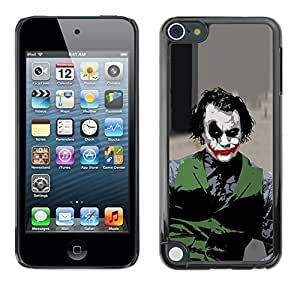 Impact Case Cover with Art Pattern Designs FOR Apple iPod Touch 5 Evil Joker Betty shop