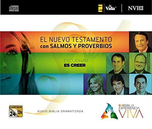 NVI Biblia Experiencia Viva, Nuevo Testamento con Salmos y Proverbios CD (Spanish Edition) by Brand: Vida