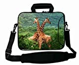 Excellent Customized Colorful ( Animal Giraffe ) Laptop Bag Suitalbe Boy's (10 Inch) For 9.7
