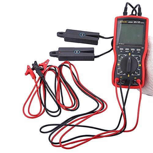 Digital meter- Double clamp digital phase meter Clamp meter ETCR4000, Amp Ohm Volt Meter: DIY & Tools