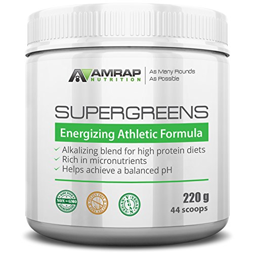 AMRAP Nutrition Organic Supergreens Powder