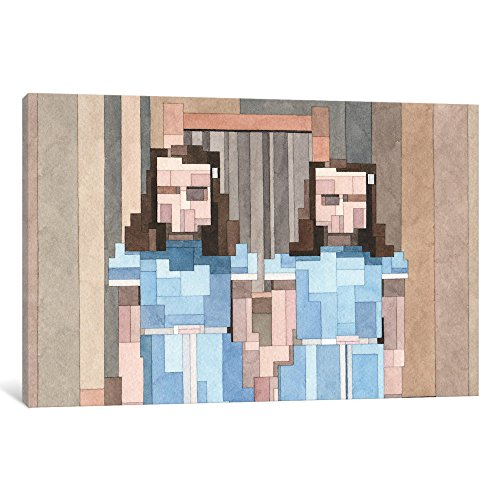 iCanvasART ALR68-1PC3-12x8 Grady Twins Gallery Wrapped Canvas Art Print by Adam Lister, 8