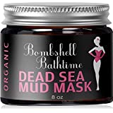 Organic Dead Sea Mud Mask 100% NATURAL Facial or Body Treatment For Acne, Blackheads, Pore Refining, Oily Skin & Anti Aging