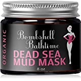 Facial Mask Eczema - Organic Dead Sea Mud Mask 100% NATURAL Facial or Body Treatment For Acne, Blackheads, Pore Refining, Oily Skin & Anti Aging