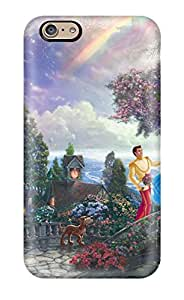 Fashion Protective Thomas Kinkade Cinderella Wishes Upon A Dream Case Cover For Iphone 6